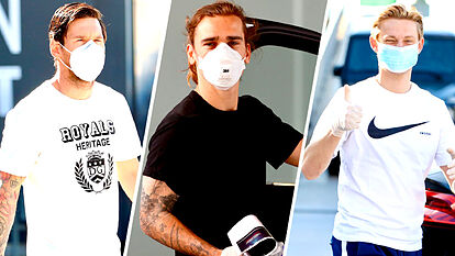 Jugadores del Barcelona dan negativo en las pruebas del COVID-19